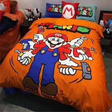 Mario Bedding Set Wholesale New Design 3 Children Mario Bedding Set
