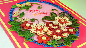 paper quilling how to make quilling greeting card for