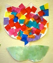 Making Flowers Out Of Tissue Paper For Kids - 86 best flower arts u0026 crafts images on pinterest flowers crafts