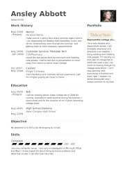 Sample Resume For Nanny Job by Kindermädchen Cv Beispiel Visualcv Lebenslauf Muster Datenbank