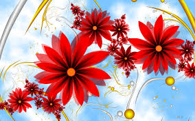 Images Flowers Red Flowers Wallpaper 702902