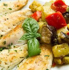 cuisiner de la dorade recette filets de dorade aux aubergines