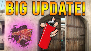 Cheap Spray Paint For Graffiti - new cs go graffiti sprays update spray paints youtube