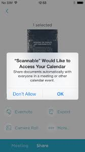 App To Scan Business Cards Evernote Scannable For Iphone Download