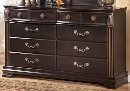 Gabriela Poster Bedroom Set Gabriela Nine Drawer Dresser By Signature Design Tenpenny Furniture