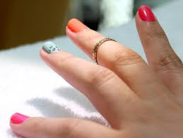 easy nail art for beginners how to get multi colored nails this