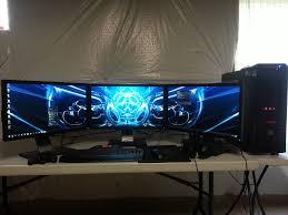 black beast my gaming setup by landkraftwagon on deviantart