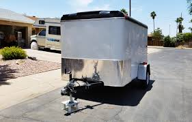 trailer stone guard aluminum diamond plate trailer stoneguard mx