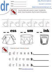 free phonics worksheets kindergarten phonics printables