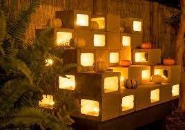 Glow In The Dark Planters by She Glazes A Pumpkin With Glue Her Next Move Transforms It Into A