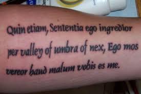 Latin Quote Tattoo Ideas 40 Awe Inspiring Tattoo Sayings Slodive