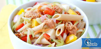 pasta salad with tuna hungry girl s sweet spicy tuna pasta salad starkist