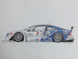 opel calibra race car art prints www dmc decals dk