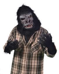 zagone albino gorilla halloween mask zagone studios