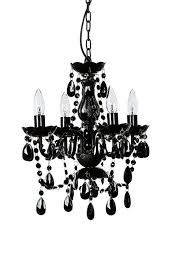 Best Selling Chandeliers The Original Color 4 Light Small Black Chandelier H18 W15