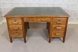 Oak Office Desks Wonderful 1930s Solid Oak Office Desk 256176 Sellingantiquescouk