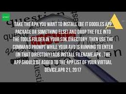how to install an apk file on my android phone how can i play apk files on my pc