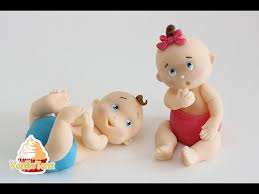 baby cake toppers anleitung fondant baby topper
