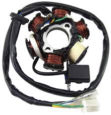 ncy replacement stator for gy6 scooterworks usa