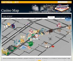 Map Of Casinos In Las Vegas by Inspiration U2013