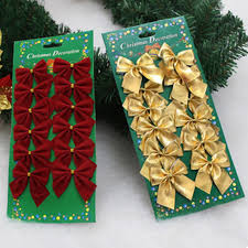 Christmas Tree Decorations Gold Bows by Online Get Cheap Bow Decorations Gold Aliexpress Com Alibaba Group