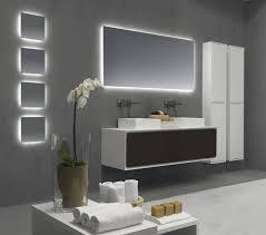 backlit bathroom mirror luxury backlit slimline illuminated