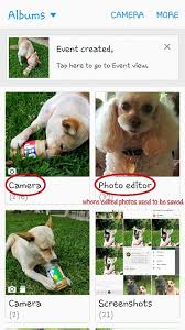 Pet Photo Albums Edited Photos Not Saving To The