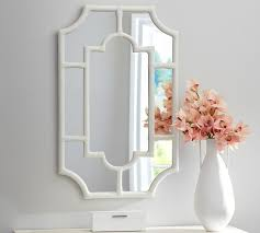 Floor Mirror Pottery Barn Avery White Bamboo Mirror 249 Pottery Barn Cassandra Says That