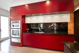 kitchen red red hot kitchen reno modern kitchen toronto by amy dillon