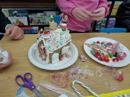 the teacher wife classroom christmas party gingerbread style