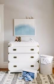nursery with campaign dresser transitional nursery