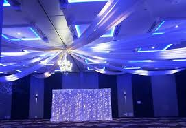 Ceiling Drapes With Fairy Lights Draping And Decor Event Styling Co Auckland