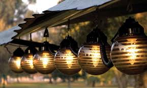 Solar Patio Lighting Solar Hanging Outdoor Patio Lights Outdoor Designs