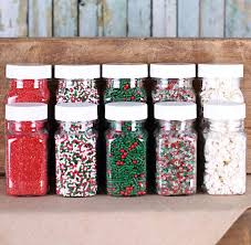 christmas sets christmas sprinkle set christmas sprinkles the bakers party shop