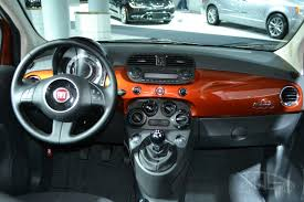 Fiat 500 Interior Beautiful 2015 Fiat 500 In Interior Design For Vehicle With 2015