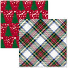 gift wrapping paper rolls white plaid christmas trees christmas wrapping paper rolls pack