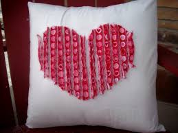 valentines day gift ideas for men how to sew a pillow heart with