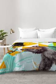 hadley hutton through the wallpaper comforter deny designs home