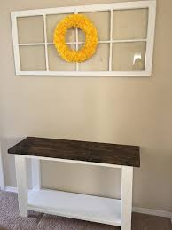 how to build a sofa table for only 30 keeping it simple crafts