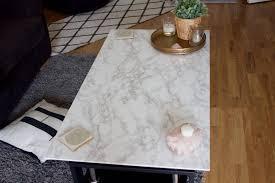 diy marble table hannah u0027s happy