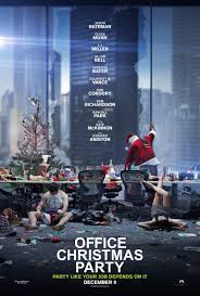 my review of office christmas party movie reviews pinterest