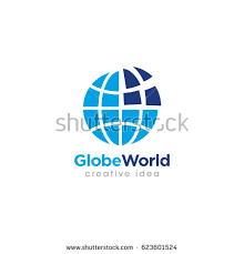 earth logo template globe sign stock vector 219401569 shutterstock