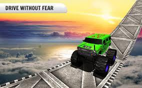 fire trucks monster truck stunt 3d grand monster truck stunts driver 1mobile com