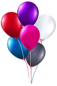 bunch of balloons colorful bunch of balloons png clipart image gallery