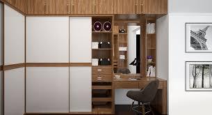 Wardrobe Closet With Sliding Doors Walnut U Shaped Wardrobe With Sliding Doors Yg16 A02