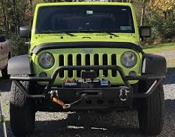 jeep bumper redrock 4x4 wrangler rock crawler front bumper j104447 07 17