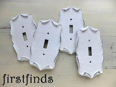 Shabby Chic Switch Plate by 2 Light Switch Plate Cover Electrical Shabby Chic By Firstfinds