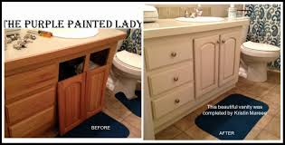 45 fresh painting bathroom vanity before and after home idea