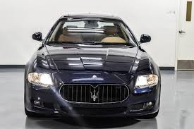 used maserati quattroporte 2010 maserati quattroporte stock 051102 for sale near marietta