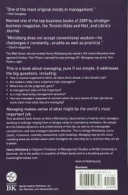 journal of management style guide managing henry mintzberg 9781605098746 amazon com books